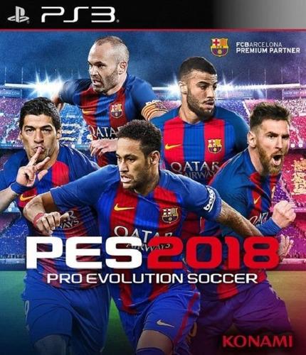 pro evolution soccer 2018 ps3 digital pes 18 original play 3