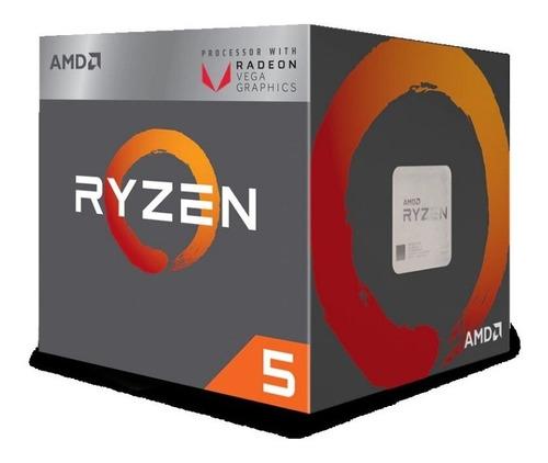 procesador cpu amd ryzen 5 2400g am4 box diginet