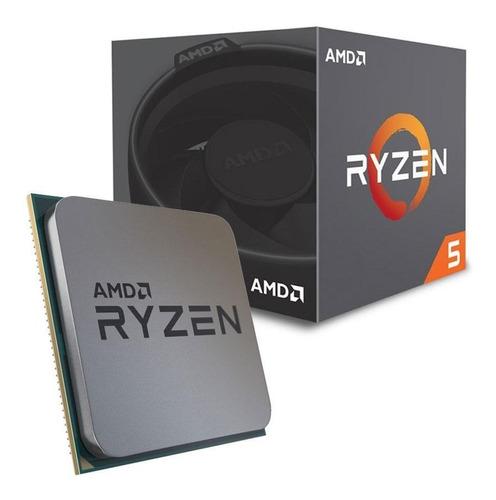 procesador gamer amd ryzen 5 2600 soc am4 box 6 núcleos nnet