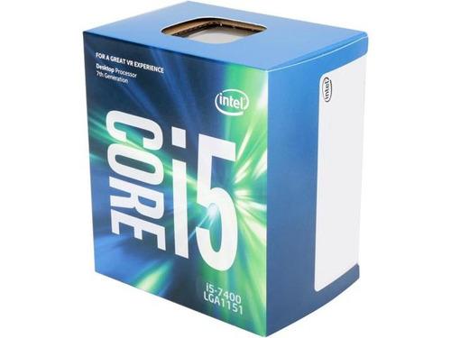 procesador i5 7400 - sistec