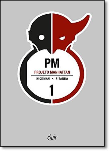 projeto manhattan capa brochura de pitarra hickman
