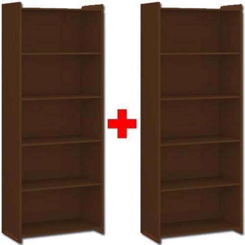 promo 2 bibliotecas b- estanteria - multiuso - mueble - lcm
