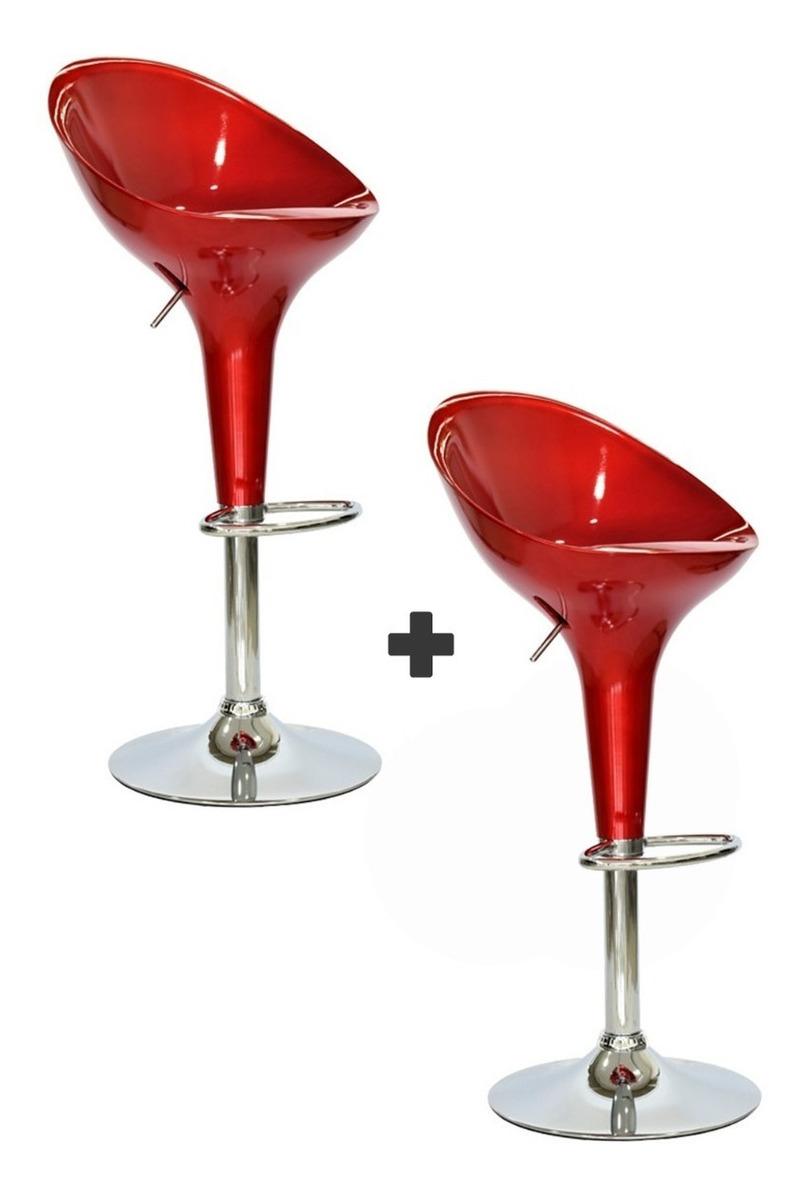 Promo 2 butacas acr lico taburete silla para bar 3 colores - Butacas para bar ...