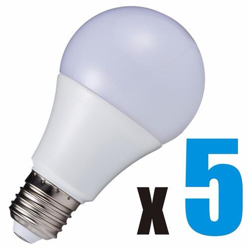 promo - lámparas led 12 watts - 5 unidades - deltero