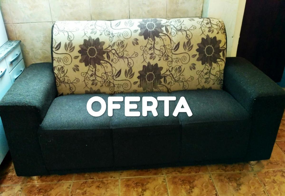 Promo Oferta Sillon 3 Cuerpos Ideal Living O Comedor Sofa - $ 2.820,00