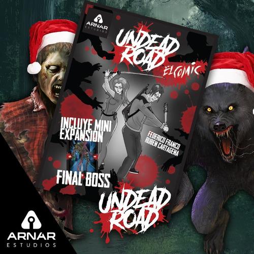 promo: undead road: el cómic + juego de cartas