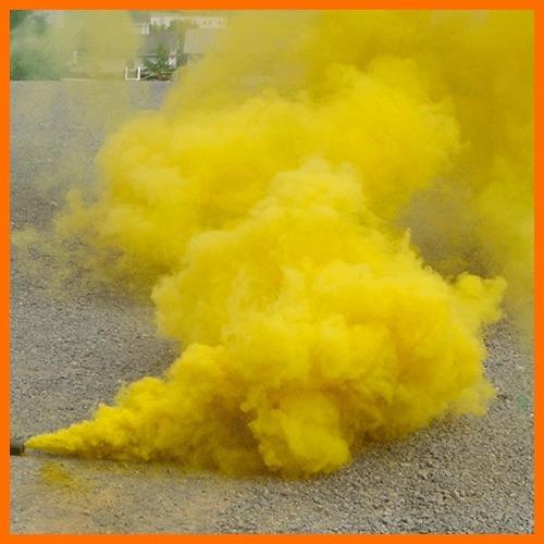promoción 5 bengalas de humo a $1090 fuegos artificiales