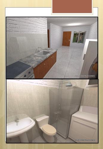 promoción casa 1 dormitorio 25m2 15.000 usd llave en mano