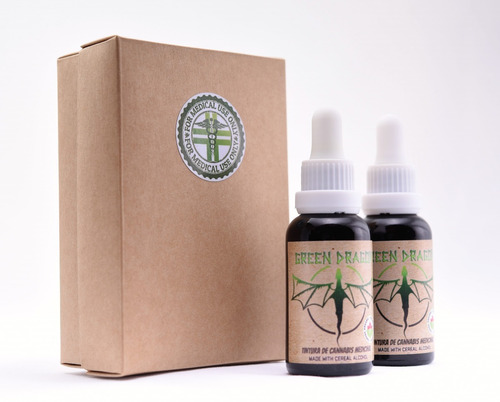 promoción tintura-aceite de cannabis cbd 2x30ml greendragon