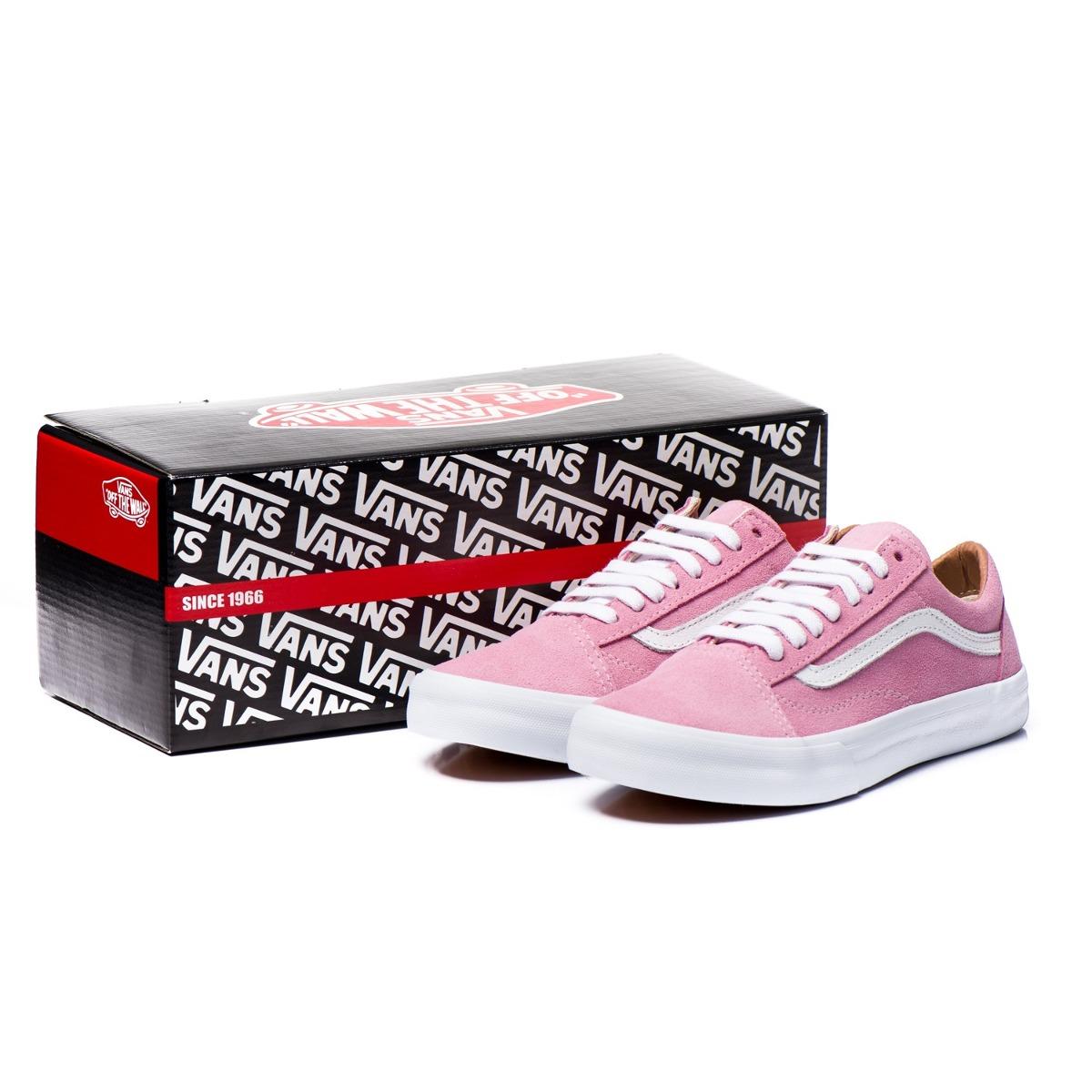128bc228eec promoção tênis feminino vans old skool rosa original. Carregando zoom.