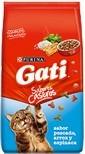promo!!gati pescado, arroz y espinaca 15 kg + obs+ envio