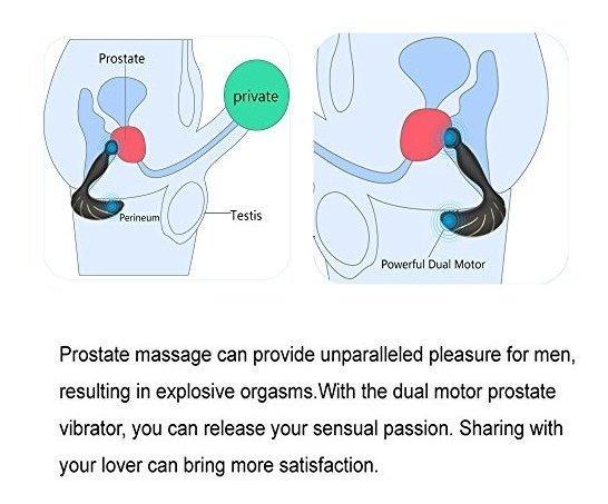 como drenar una próstata con un masajeador