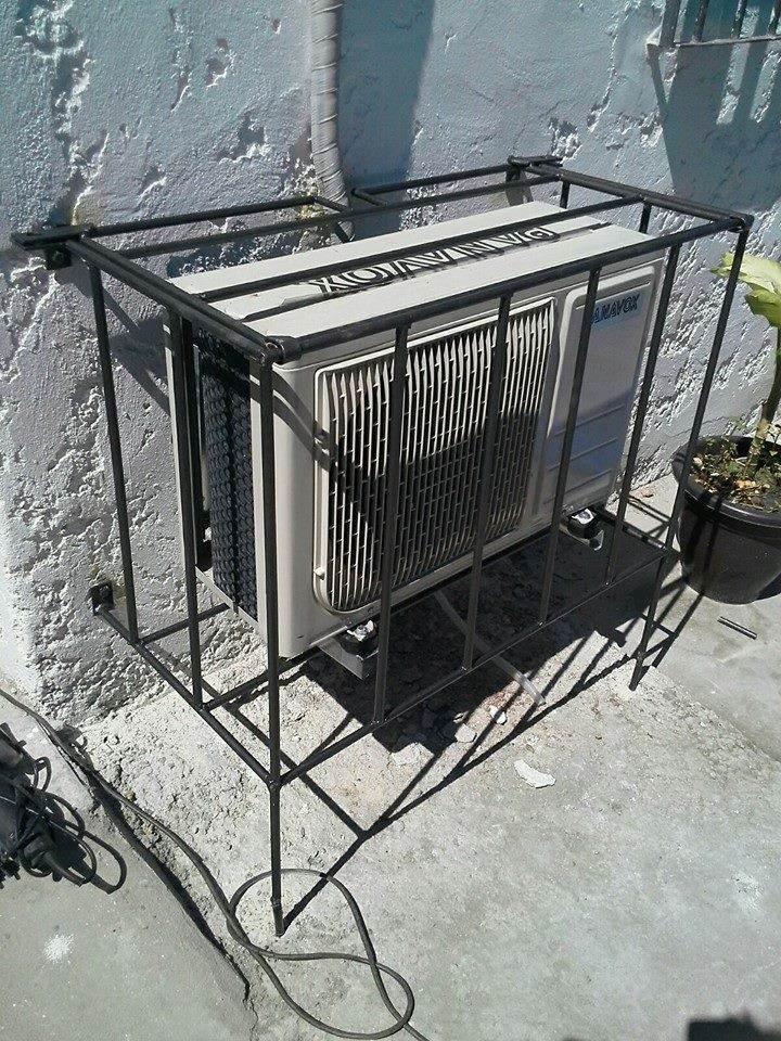 Proteccion De Reja Para Aire Acondicionado 2 200 00 En