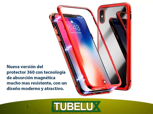 protector 360 magnetico iphone 6s plus 8 8 plus x xr xs max