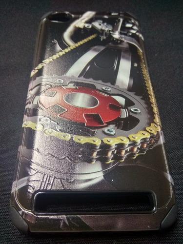 protector antishock con diseño en relieve redmi 5a