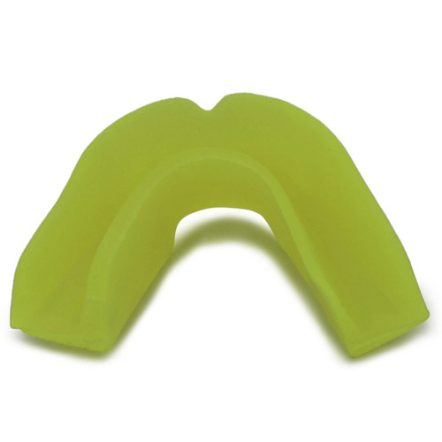 protector bucal unisex topper color amarillo amarillo
