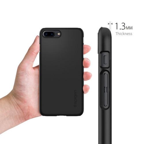 protector case iphone 7 plus 8 plus spigen thin fit black