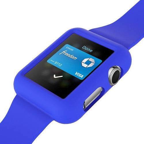 protector de silicona con malla apple watch 38mm iwatch ®