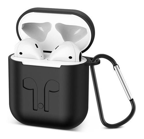 protector de silicona para auriculares airpods apple iphone