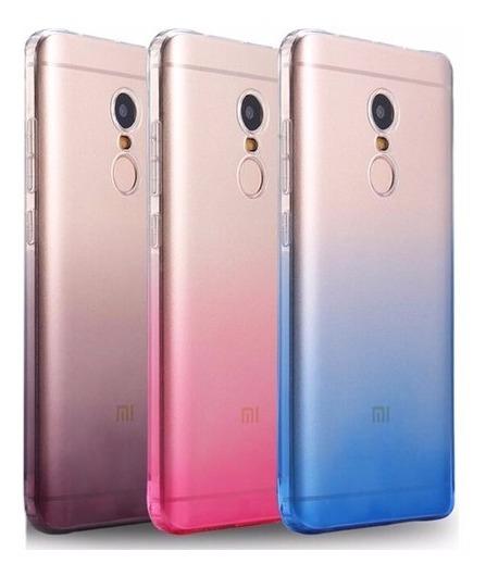 08255cd1bcc Protector Fino Tpu Degrade Premium Funda Xiaomi Redmi Note 4 - $ 90 ...