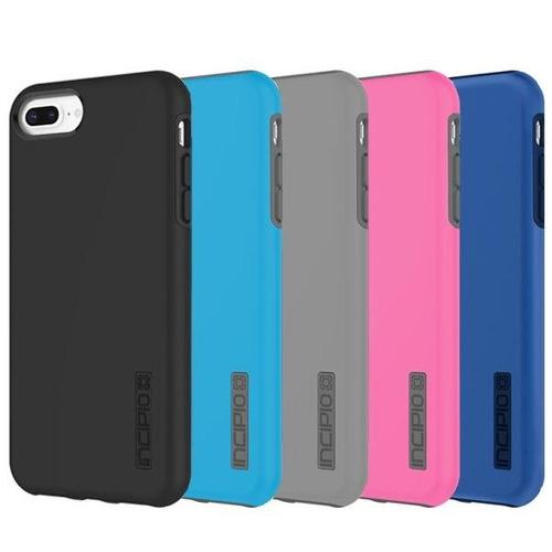 protector funda iphone 8 7 plus  ultra reforzado rosado