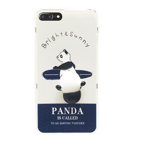 3b7cd570023 Protector Funda iPhone 8 Plus 7 Plus Squishy Oso Panda - $ 199,00 en ...