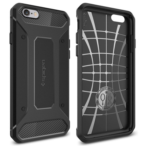 protector funda spigen carbono iphone 5 5s se 6 6s 7 8 plus®