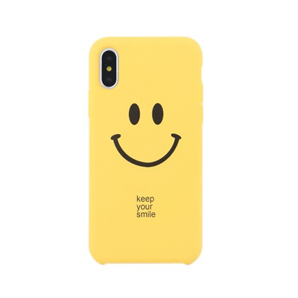 protector iphone 6/6s/7/8 plus engomado diseño smile