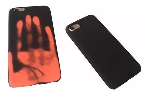protector iphone 8 plus  termico sensible al calor