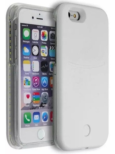 protector lumee con luz led selfies iphone se 5s 5 ®