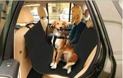protector para el  auto.  viaje con  mascota y acompañante