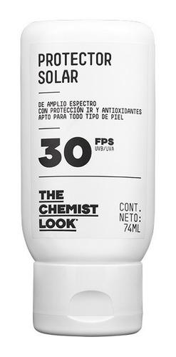 protector solar fps 30 uvb + uva - the chemist look