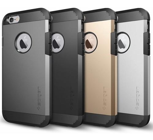 protector spigen slim armor iphone 7 6 6s y plus + vidrio ®