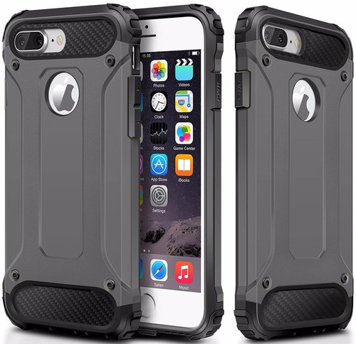 protector spigen tough armor tech +vidrio iphone 7 6s 6 plus