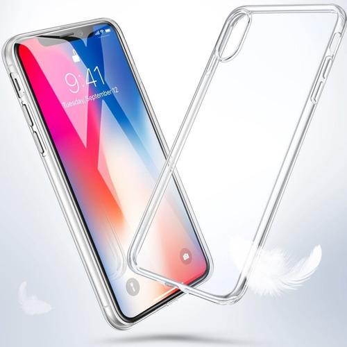 protector tpu transparente iphone xs max / xs / xr / x 10 ®