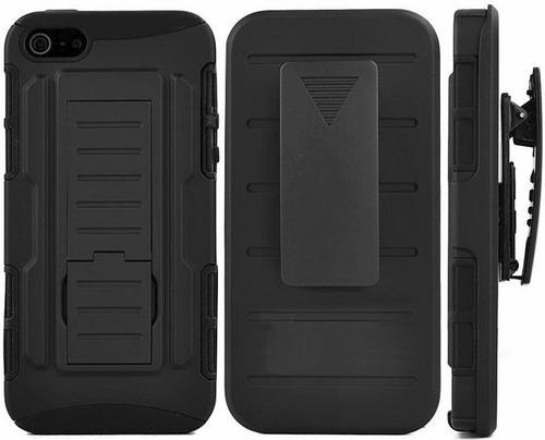 protector ultra resistente iphone 6 6s 5 5s se + estuche ®