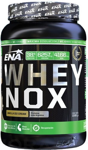 proteína whey nox ena 1 kg - envíos a todo el país!