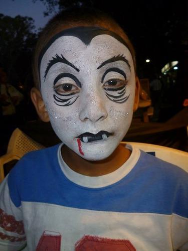 protesis, maquillaje, para halloween