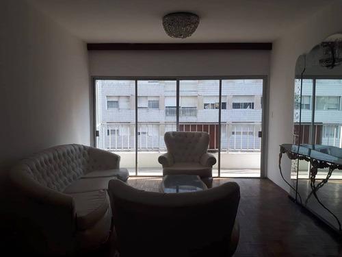 próximo rambla con o sin muebles 3 dorm 2 baños, garage.