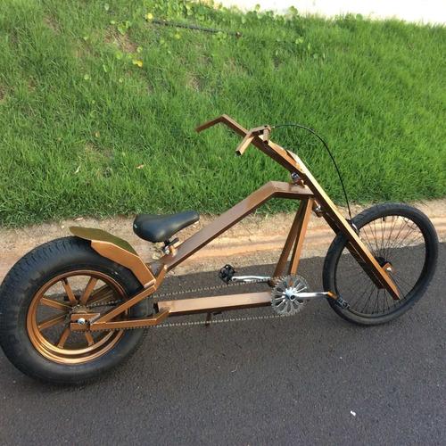 proyecto bicicleta chopper  overkill