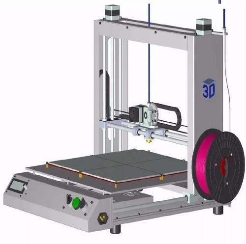 proyecto crea construye impresora 3d motores nema-17