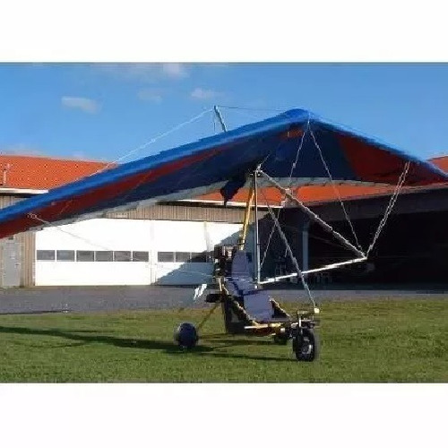 proyecto ultraleve trike biplace rotax parapente