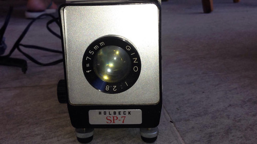 proyector antiguo holbeck sp 7
