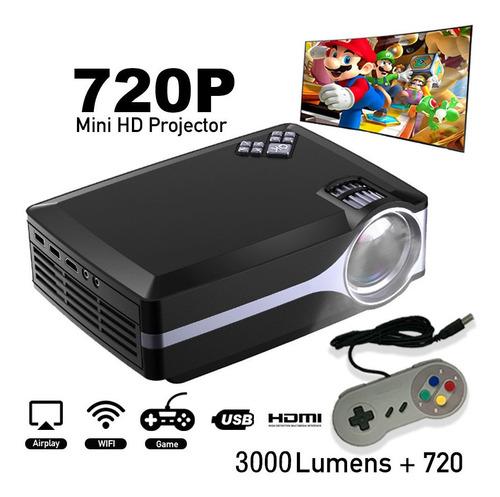 proyector hd nativo c/wifi 3000 lumens 200 pulgadas oferton!
