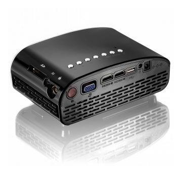 proyector mini led gp8s 1080p vivibright lcd amv