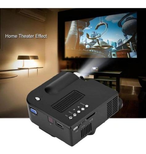 proyector mini led multimedia 60 ´ hdmi vga usb sd