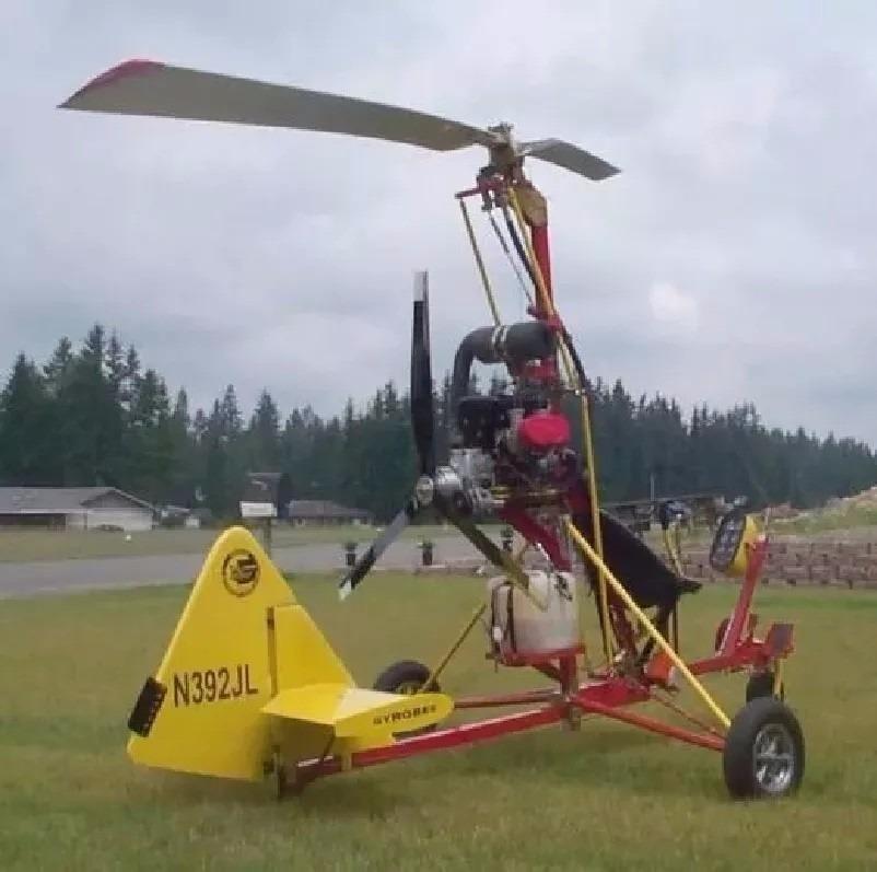 Proyectos Helicoptero Planos Construye Girocoptero - $ 400,00 en ...