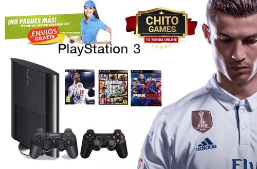 ps3 500gb juegos con