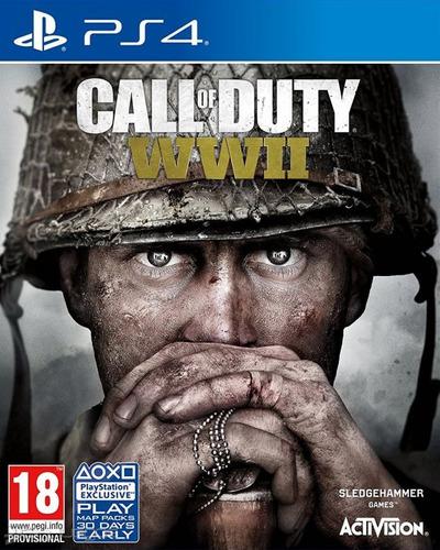 ps4 fisico call of duty ww2 inglês nuevo sellado