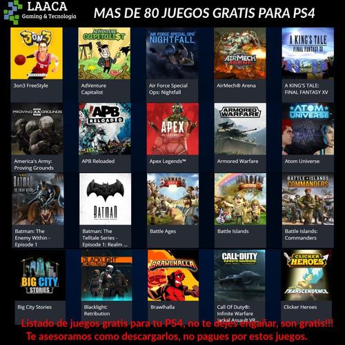 ps4 juegos playstation